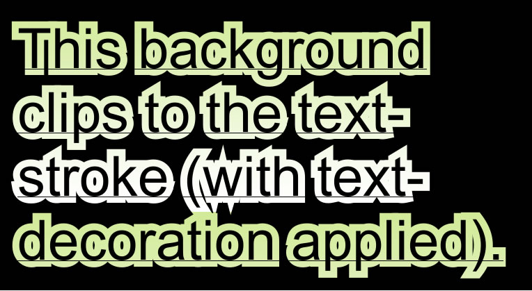 Webkit introduces 'background-clip:text' - CSS3 . Info